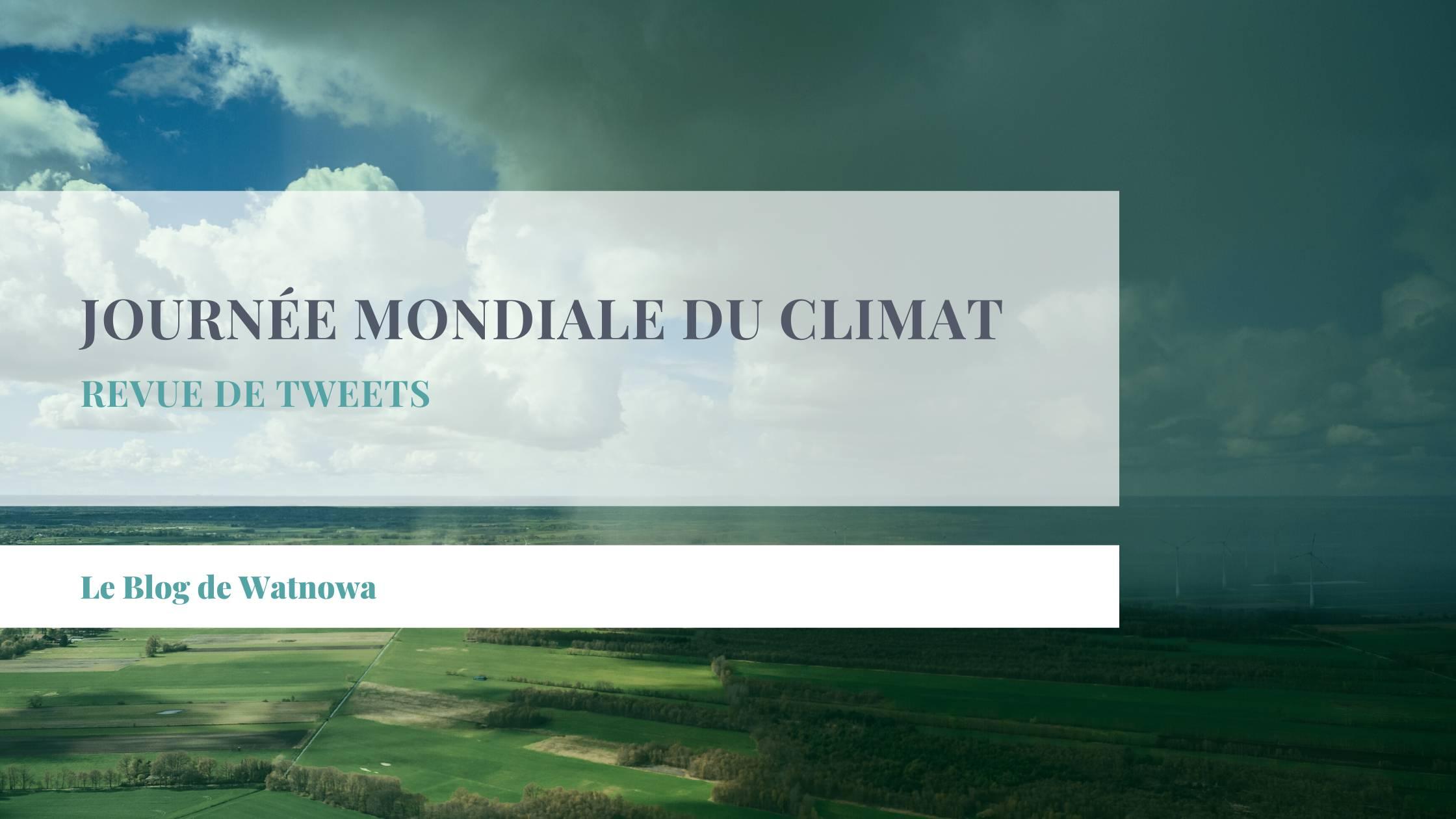 Paysage agricole avec nuages