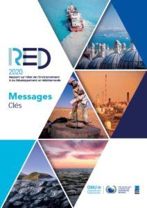 Page de garde du Rapport sur l'Etat de l'eau en Méditerannée-2020
